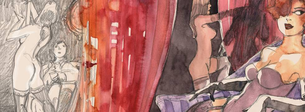Un conte de Miss Kat illustré par Denis Verlaine délicieusement libertin