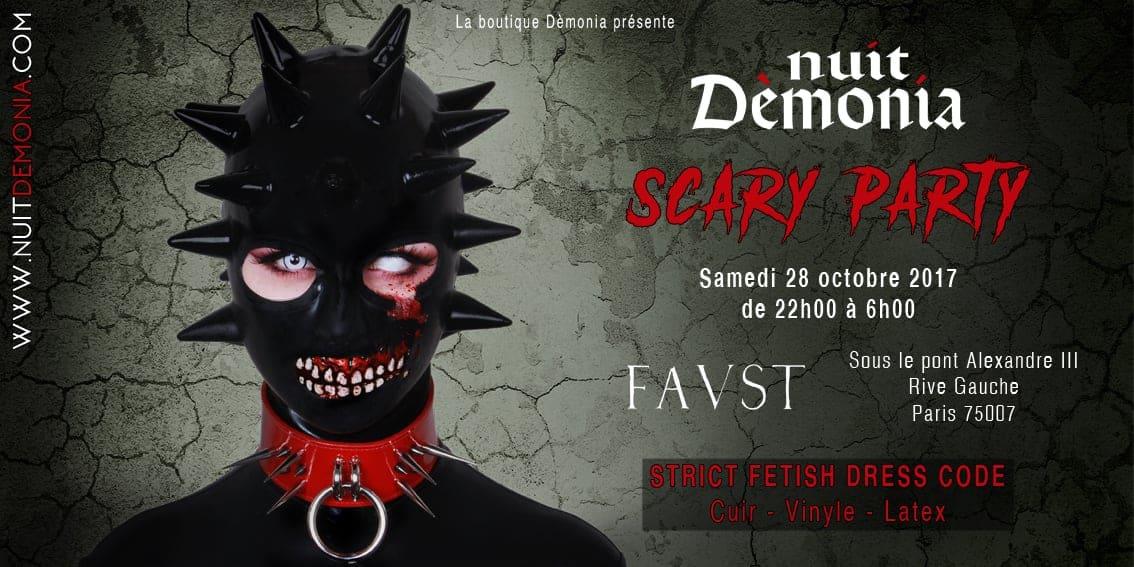 La Nuit Dèmonia 2017, Scary Party - NXPL